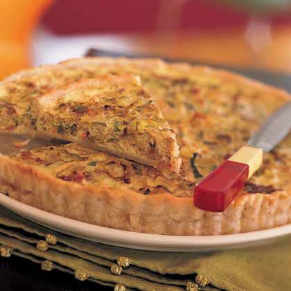 Leek and Bacon Tart